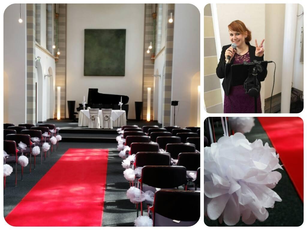 Hochzeitssängerin Gabriele-Golsch - Hochzeit, Taufe, Beerdigung - Hochzeit im Collegium Leonium in Bonn