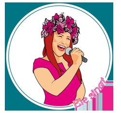 Sängerin Gabriele Golsch Logo